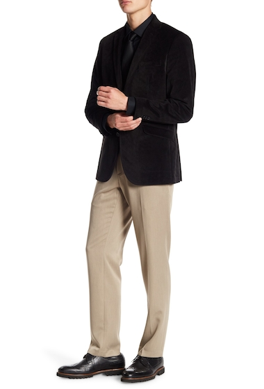 Imbracaminte Barbati Kenneth Cole Reaction Urban Heather Slim-Fit Flat Front Dress Pants - 29-34 Inseam OATMEAL