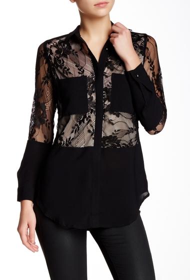 Imbracaminte Femei TOV Lace Blouse BLACK