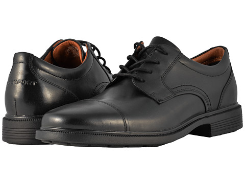 Incaltaminte Barbati Rockport Dressports Luxe Cap Toe Ox Black