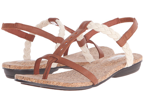 Incaltaminte Femei The North Face Bridgeton Braid Slingback Cognac BrownVintage White (Prior Season)