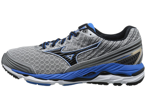Mizuno Wave Paradox 2 Alloy Black Electric Blue Lemonade - mycloset.ro