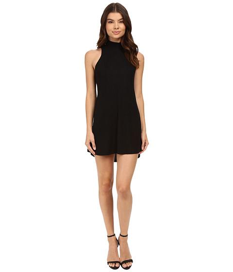 Imbracaminte Femei Culture Phit Atarah Turtleneck Sleeveless Ribbed Dress Black