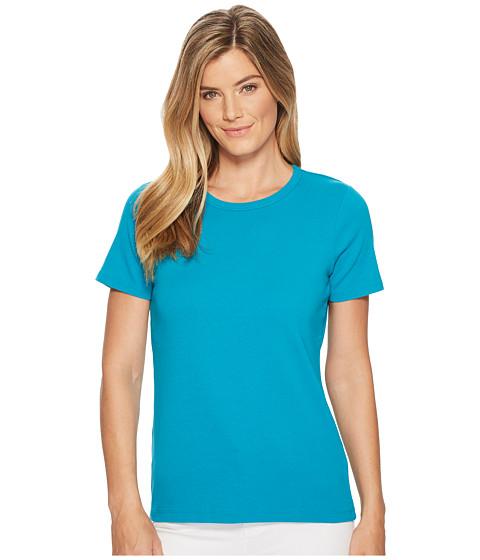 Imbracaminte Femei Pendleton Short Sleeve Rib Tee Enamel Blue