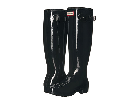 Incaltaminte Femei Hunter Original Tour Gloss Packable Rain Boot Black