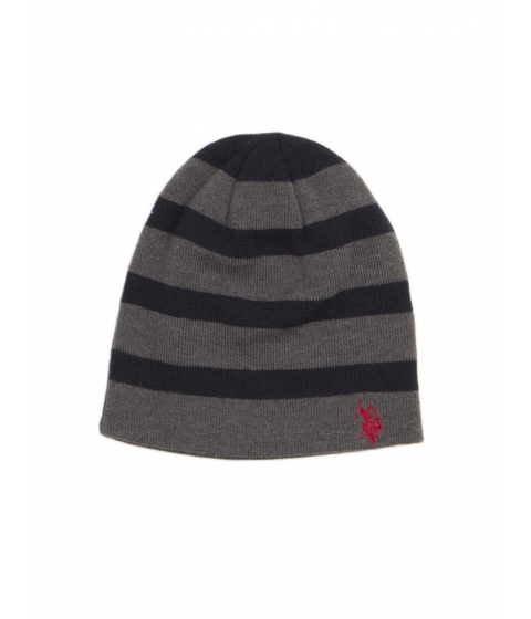 Accesorii Barbati US Polo Assn reversible horse stripe beanie Classic Navy