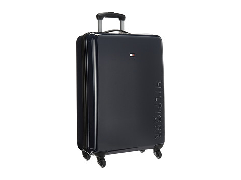 Accesorii Femei Tommy Hilfiger Bristol 25quot Upright Suitcase Navy
