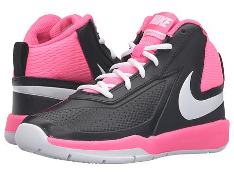 Incaltaminte Fete Nike Team Hustle D 7 (Big Kid) BlackHyper PinkWhite