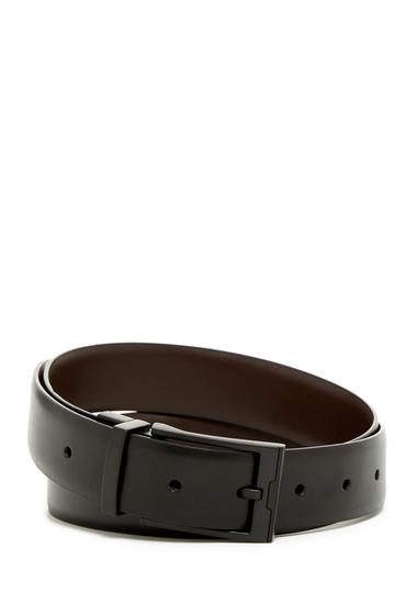 Accesorii Barbati Original Penguin Reversible Cop Leather Belt BLK COP BL