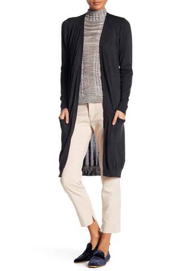 Imbracaminte Femei JOSEPH A Knit Longline Cardigan CHARCOAL H