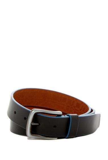 Accesorii Barbati Boconi Trim Leather Belt BLACK