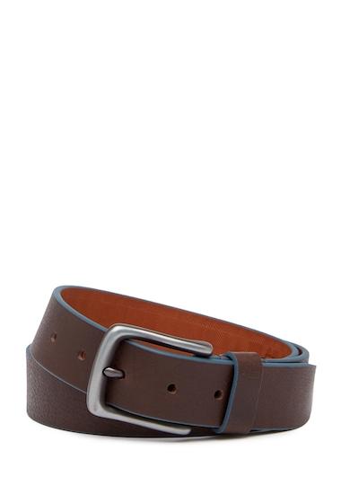 Accesorii Barbati Boconi Trim Leather Belt BROWN BLUE