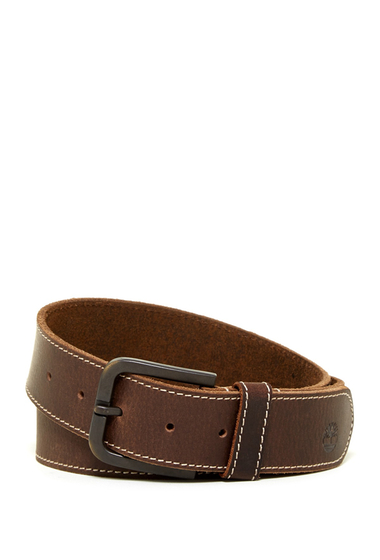 Accesorii Barbati Timberland 40mm Oily Milled Leather Belt BROWN