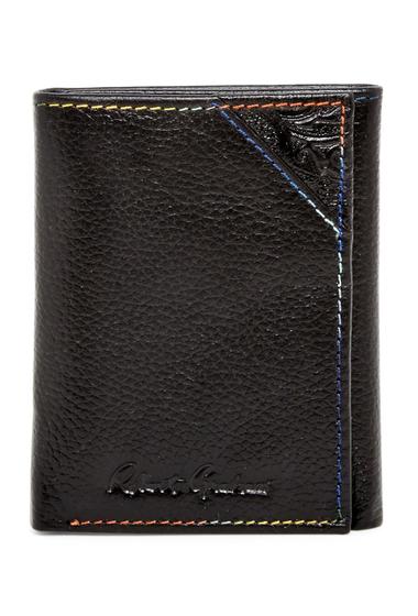 Accesorii Barbati Robert Graham Clarke Leather Trifold Wallet BLACK