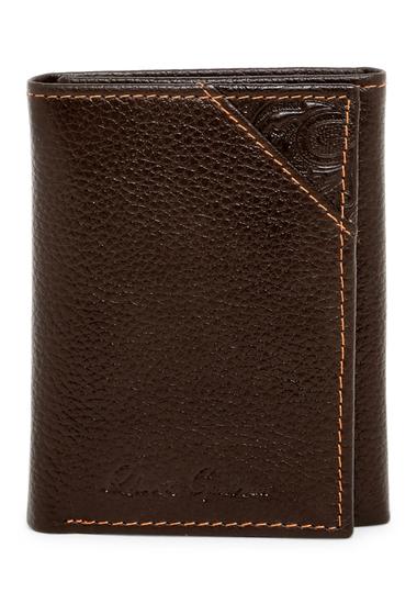 Accesorii Barbati Robert Graham Kent Leather Trifold Wallet BROWN