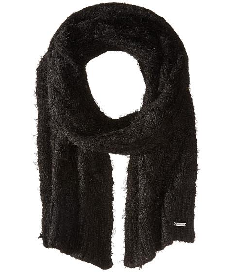 Accesorii Femei Calvin Klein Fuzzy Cable Scarf Black