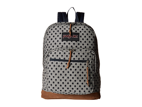 Genti Femei JanSport Right Pack Expressions Silver Twiggy Dot Jaquard