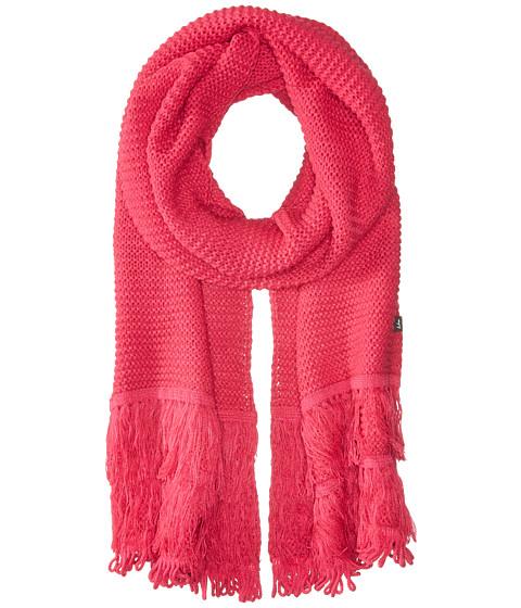 Accesorii Femei Echo Design Solid Fringy Muffler Pink Raspberry