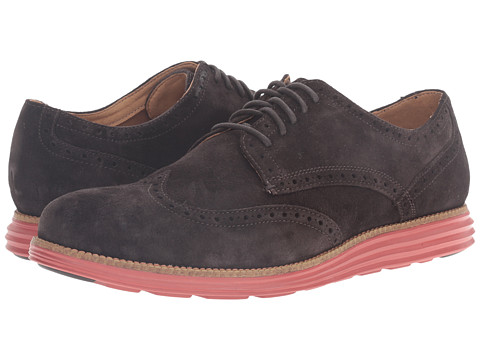 Incaltaminte Barbati Cole Haan Original Grand Wing Oxford After Dark SuedeBossa Nova