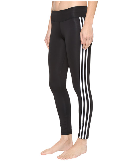 Imbracaminte Femei adidas Designed-2-Move 3-Stripes Long Tights BlackWhite