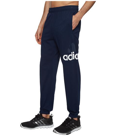 Imbracaminte Barbati adidas Essentials Track SJ Logo Pants Collegiate NavyWhite