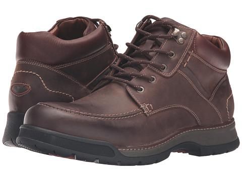 Incaltaminte Barbati Johnston Murphy XC4reg Waterproof Thompson Moc Toe Boot Tan Oiled Waterproof Full Grain