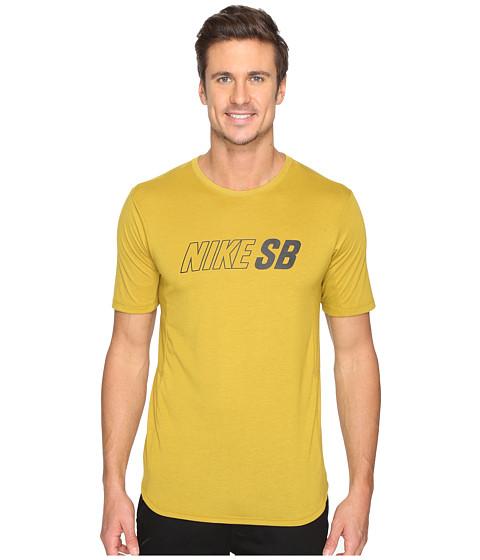 Imbracaminte Barbati Nike SB Skyline Dri-FIT Cool GFX Short Sleeve Shirt Peat MossPeat MossBlack