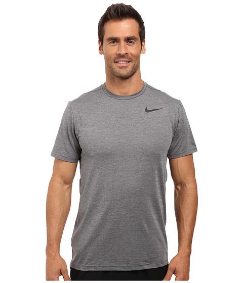 Imbracaminte Barbati Nike Dry Short Sleeve Training Top Dark GreyWolf GreyBlack