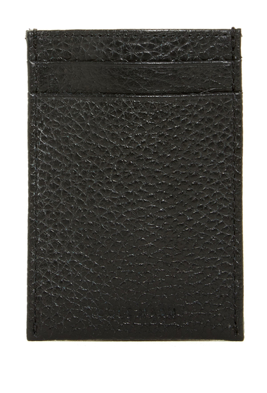 Accesorii Cole Haan Leather Card Case with Money Clip BLACK