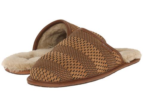 Incaltaminte Barbati UGG Scuff Weave Chestnut Suede