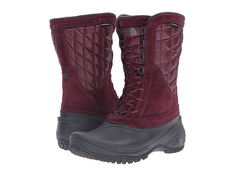 Incaltaminte Femei The North Face ThermoBall Utility Mid Deep Garnet RedCalypso Coral (Prior Season)
