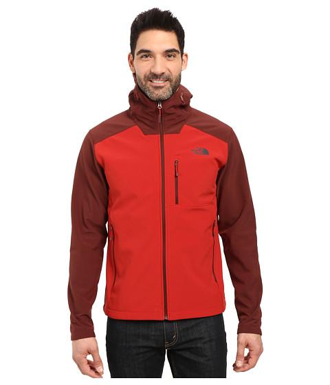 Imbracaminte Barbati The North Face Apex Bionic 2 Hoodie Cardinal RedSequoia Red (Prior Season)