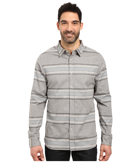 Imbracaminte Barbati The North Face Long Sleeve Approach Flannel TNF Light Grey Heather (Prior Season)