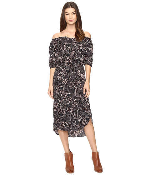 Imbracaminte Femei Brigitte Bailey Astine Off the Shoulder Midi Dress BlackPink