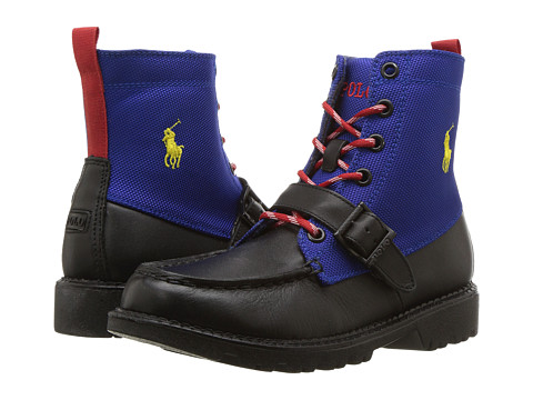 Incaltaminte Fete Polo Ralph Lauren Ranger Hi II (Little Kid) BlackRoyal