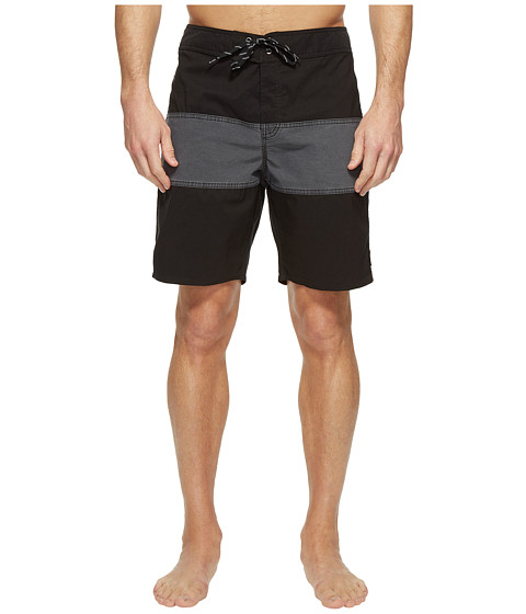 Imbracaminte Barbati Brixton Barge Trunks Washed BlackBlack