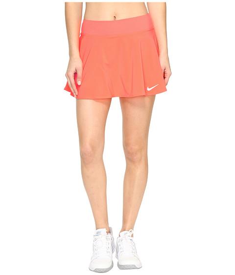 Imbracaminte Femei Nike Nike Court Flex Pure Tennis Skirt Hyper OrangeWhite