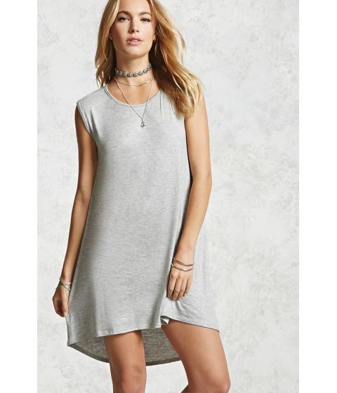 Imbracaminte Femei Forever21 High-Low Jersey Dress Heather grey