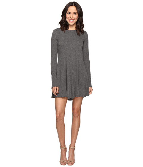 Imbracaminte Femei Brigitte Bailey Mithra Dress with Crisscross Back Heather Grey