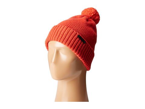 Accesorii Femei COACH Sheepskin Pom Hat Orange