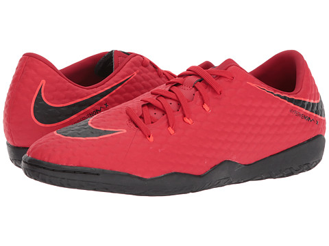 Incaltaminte Barbati Nike Hypervenom Phelon III IC University RedBlackBright Crimson