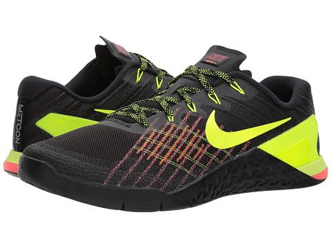 Incaltaminte Barbati Nike Metcon 3 BlackVoltHyper CrimsonHot Punch