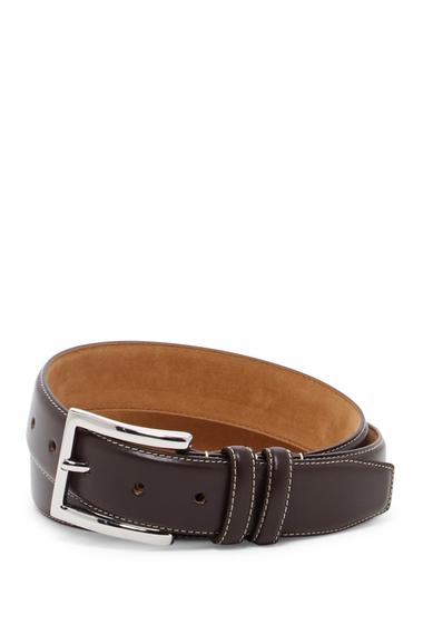 Accesorii Barbati Cole Haan Feathered Edge Leather Belt BROWN