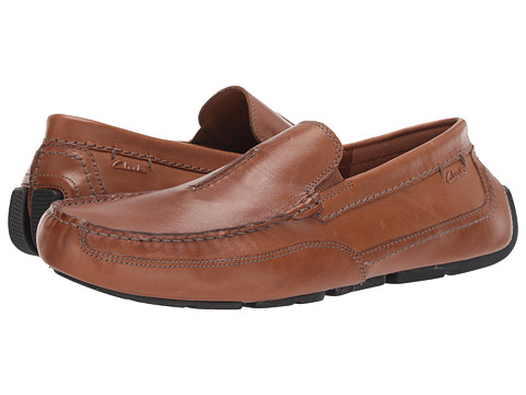 Incaltaminte Barbati Clarks Ashmont Race Tan Smooth Leather