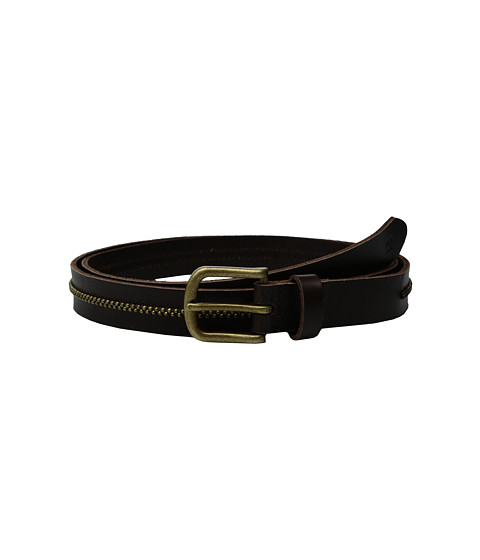 Accesorii Barbati Scotch Soda Leather Belt w Embossed Buckle Brown