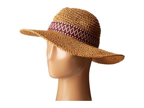 Accesorii Femei Echo Design Crochet Panama Beach Hat Natural