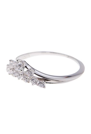 Bijuterii Femei NADRI Tiara CZ Ring - Size 7 RHODIUM
