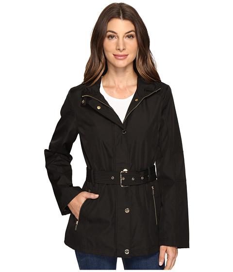 Imbracaminte Femei MICHAEL Michael Kors Belted Snap Front Jacket M322119R74 Black