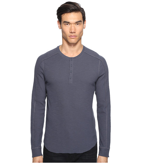 Imbracaminte Barbati Vince Long Sleeve Henley Pewter
