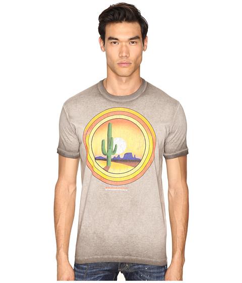 Imbracaminte Barbati DSQUARED2 American Road Trip T-Shirt Grey