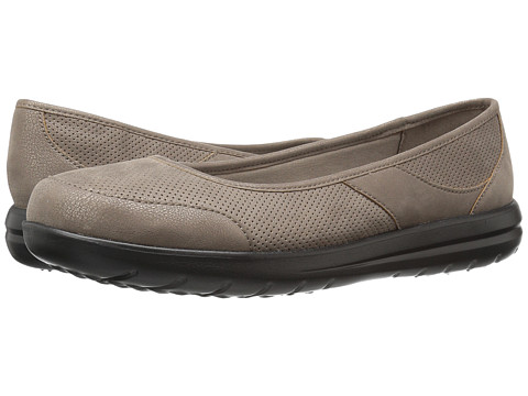 Incaltaminte Femei Clarks Jocolin Myla Pewter Perfed Synthetic